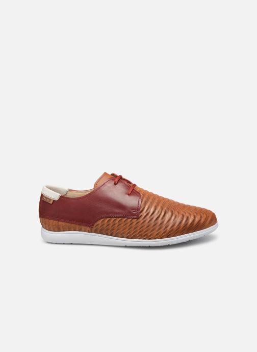 Lace-up shoes Pikolinos Faro Orange back view