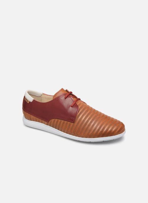 Lace-up shoes Pikolinos Faro Orange detailed view/ Pair view