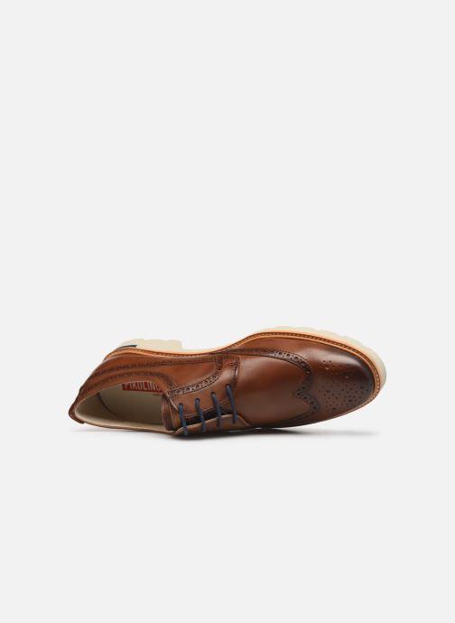 Zapatos con cordones Pikolinos SALOU M9J-4226 Marrón vista lateral izquierda