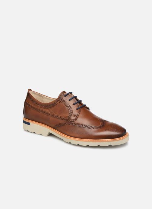 Zapatos con cordones Pikolinos SALOU M9J-4226 Marrón vista de detalle / par