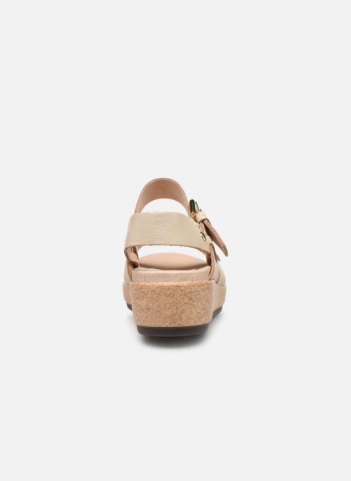 Sandales et nu-pieds Pikolinos Mykonos W1G-1589 Beige vue droite