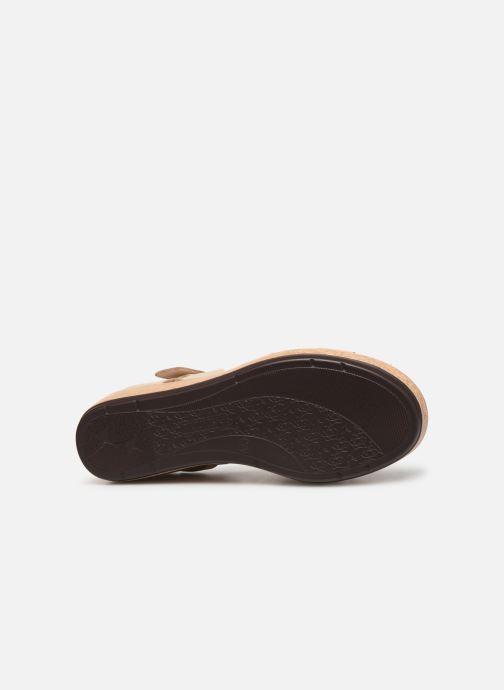 Sandales et nu-pieds Pikolinos Mykonos W1G-1589 Beige vue haut