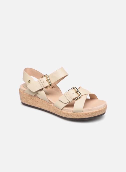 Sandales et nu-pieds Pikolinos Mykonos W1G-1589 Beige vue détail/paire