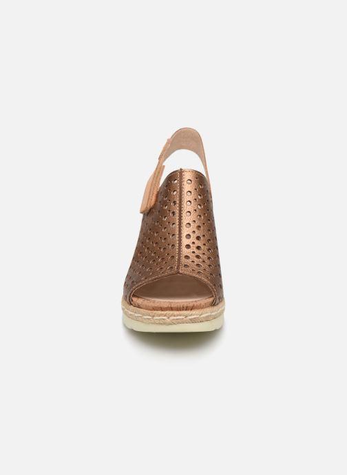 Sandales et nu-pieds Pikolinos Bali W3L-0922CL Marron vue portées chaussures