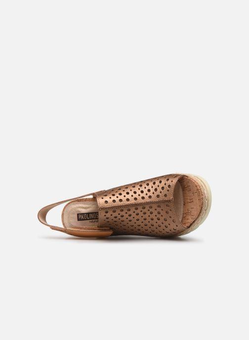 Sandales et nu-pieds Pikolinos Bali W3L-0922CL Marron vue gauche