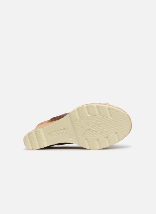 Sandali e scarpe aperte Pikolinos Bali W3L-0922CL Marrone immagine dall'alto