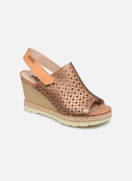 Sandales et nu-pieds Pikolinos Bali W3L-0922CL Marron vue détail/paire