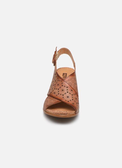 Sandales et nu-pieds Pikolinos Vigo W3R-1596 Marron vue portées chaussures