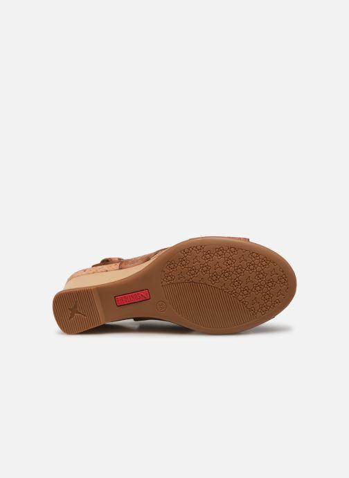 Sandales et nu-pieds Pikolinos Vigo W3R-1596 Marron vue haut