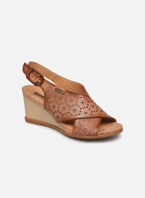Sandales et nu-pieds Pikolinos Vigo W3R-1596 Marron vue détail/paire