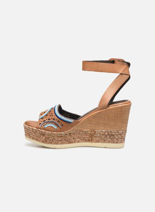 Sandales et nu-pieds Pikolinos Alhambra W4K-MA1616 Beige vue face