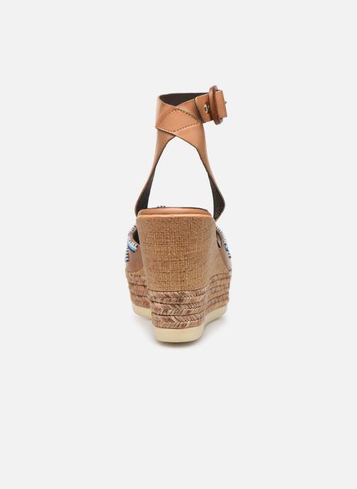 Sandales et nu-pieds Pikolinos Alhambra W4K-MA1616 Beige vue droite