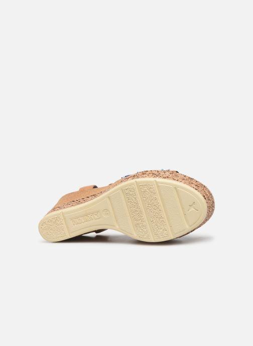 Sandales et nu-pieds Pikolinos Alhambra W4K-MA1616 Beige vue haut