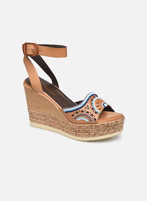 Sandales et nu-pieds Pikolinos Alhambra W4K-MA1616 Beige vue détail/paire