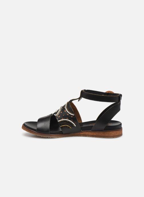 Sandales et nu-pieds Pikolinos Antillas W5K-MA0546 Noir vue face