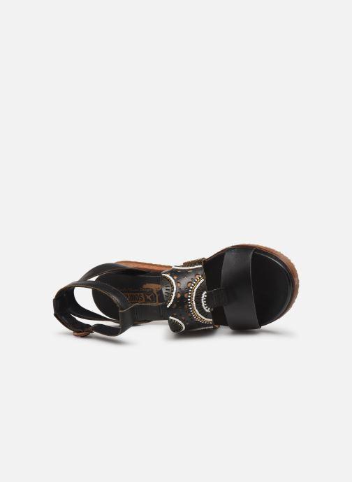 Sandales et nu-pieds Pikolinos Antillas W5K-MA0546 Noir vue gauche