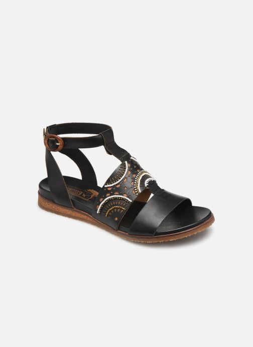 Sandales et nu-pieds Pikolinos Antillas W5K-MA0546 Noir vue détail/paire