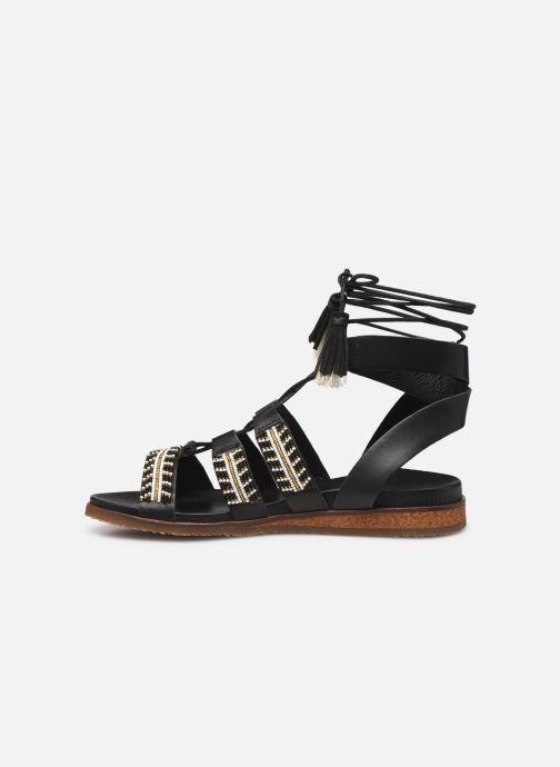 Sandales et nu-pieds Pikolinos Antillas W5K-MA0896 Noir vue face