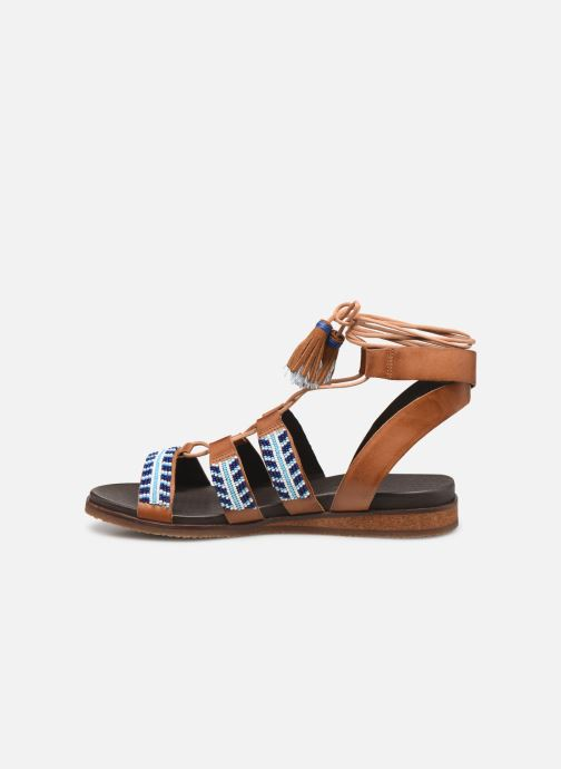 Sandales et nu-pieds Pikolinos Antillas W5K-MA0896 Marron vue face