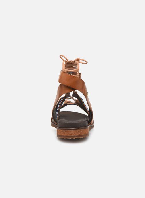Sandales et nu-pieds Pikolinos Antillas W5K-MA0896 Marron vue droite