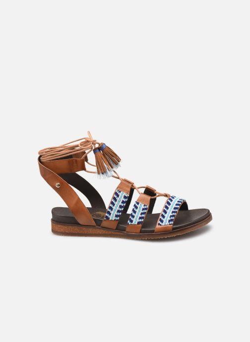 Sandales et nu-pieds Pikolinos Antillas W5K-MA0896 Marron vue derrière