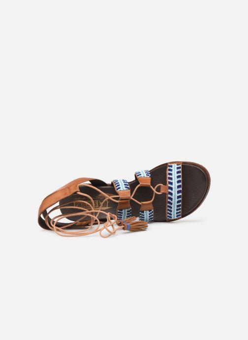 Sandales et nu-pieds Pikolinos Antillas W5K-MA0896 Marron vue gauche