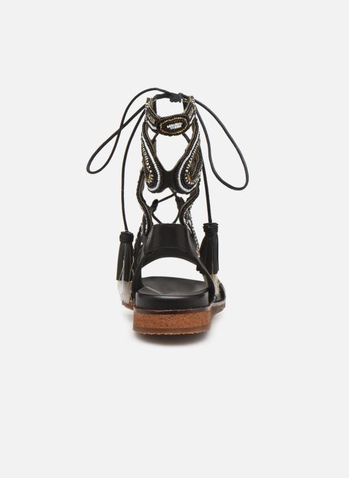 Sandalen Pikolinos Antillas W5K-MA0898 Zwart rechts
