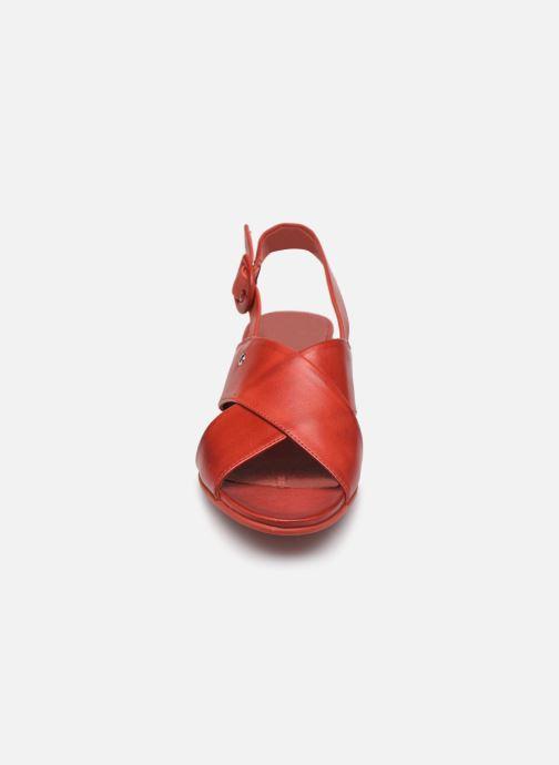 Sandales et nu-pieds Pikolinos Tamarit W7U-1740 Rouge vue portées chaussures