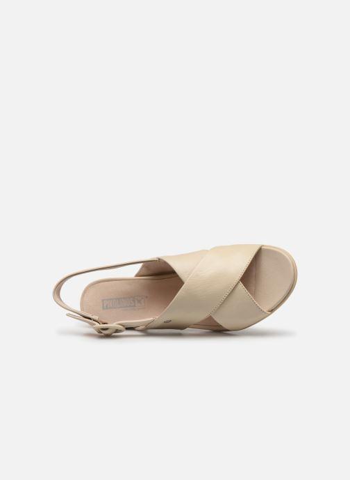 Sandales et nu-pieds Pikolinos Tamarit W7U-1740 Beige vue gauche
