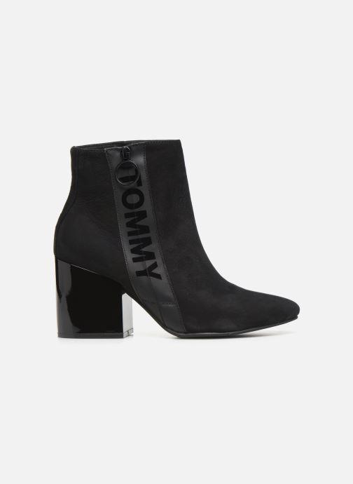 Bottines et boots Tommy Hilfiger TOMMY JEANS ZIP MID HEEL BOOT Noir vue derrière