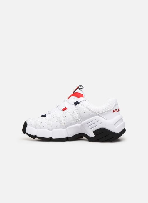 Baskets Tommy Hilfiger WMNS HERITAGE CHUNKY SNEAKER Blanc vue face