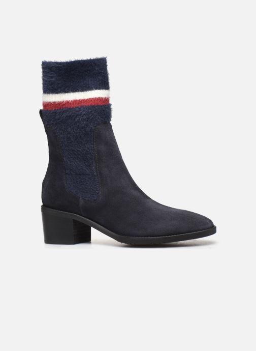 Bottines et boots Tommy Hilfiger COSY MID HEEL SUEDE BOOTIE Bleu vue derrière