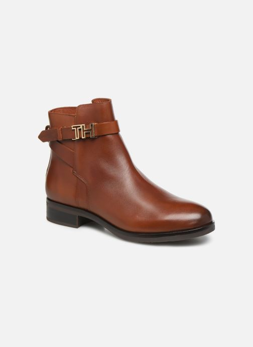 Bottines et boots Femme TH HARDWARE LEATHER FLAT BOOTIE