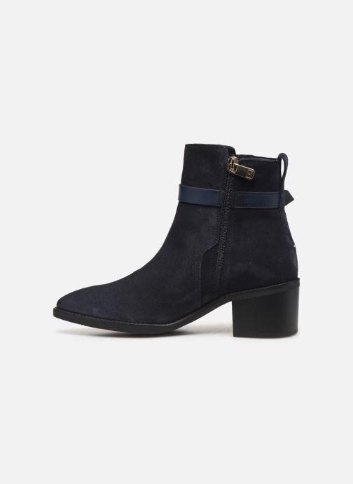 Bottines et boots Tommy Hilfiger TH HARDWARE SUEDE BOOTIE Bleu vue face