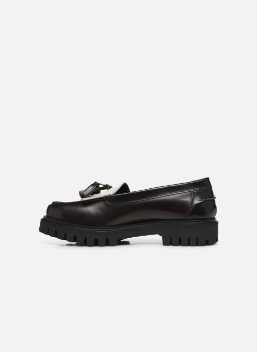 Mocassins Tommy Hilfiger ICONIC POLISHED LOAFER Noir vue face