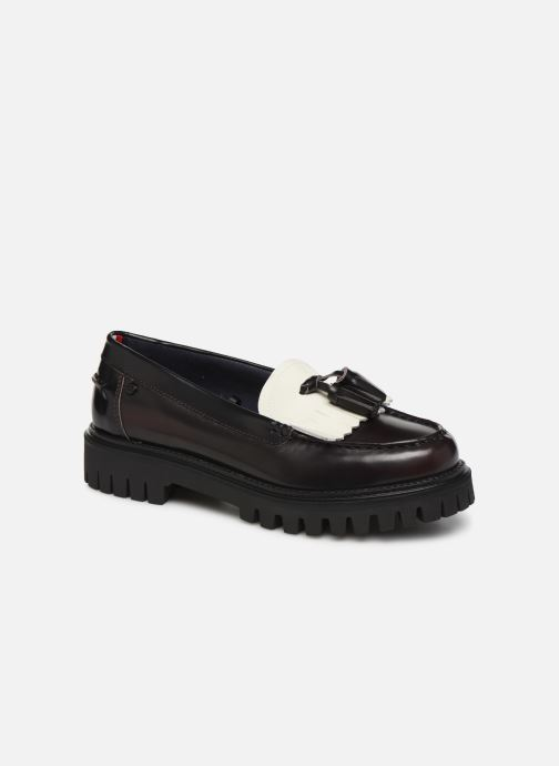 Mocassins Tommy Hilfiger ICONIC POLISHED LOAFER Noir vue détail/paire