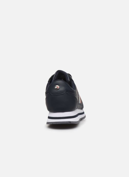 Trainers Tommy Hilfiger TOMMY RETRO CRYSTAL SNEAKER Blue view from the right