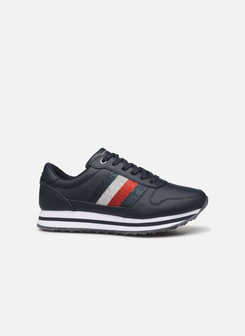 Trainers Tommy Hilfiger TOMMY RETRO CRYSTAL SNEAKER Blue back view
