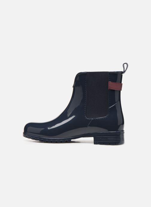 Bottines et boots Tommy Hilfiger TH HARDWARE RUBBER BOOTIE Bleu vue face