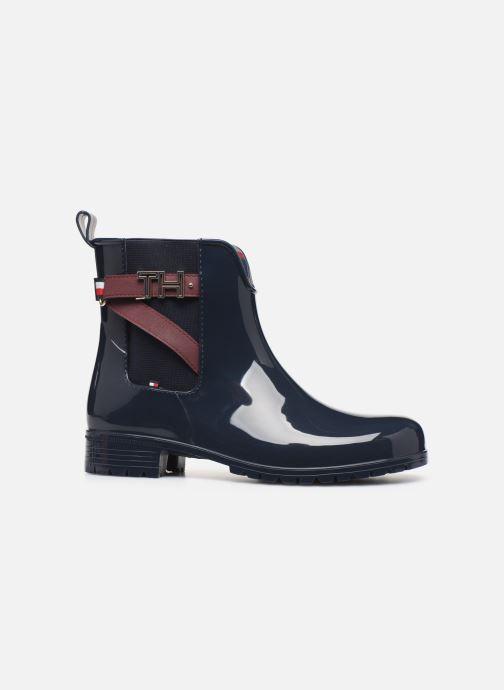 Bottines et boots Tommy Hilfiger TH HARDWARE RUBBER BOOTIE Bleu vue derrière