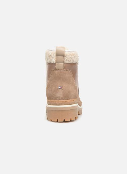Bottines et boots Tommy Hilfiger COSY OUTDOOR BOOTIE Marron vue droite