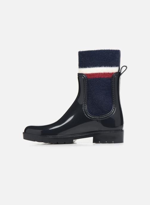 Boots en enkellaarsjes Tommy Hilfiger COSY RAINBOOT Blauw voorkant