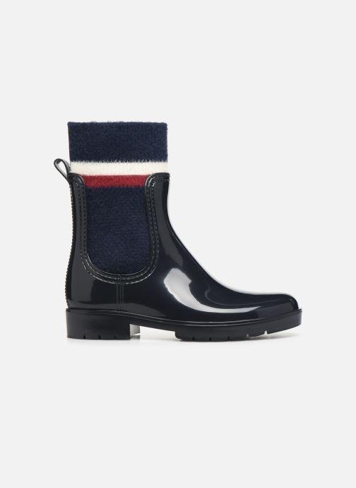 Stiefeletten & Boots Tommy Hilfiger COSY RAINBOOT blau ansicht von hinten