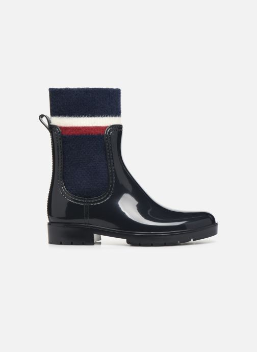 Bottines et boots Tommy Hilfiger COSY RAINBOOT Bleu vue derrière