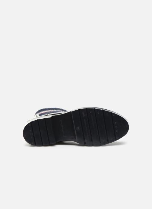 Stiefeletten & Boots Tommy Hilfiger COSY RAINBOOT blau ansicht von oben