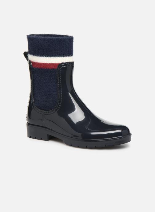 Ankelstøvler Tommy Hilfiger COSY RAINBOOT Blå detaljeret billede af skoene