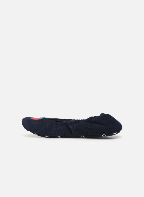 Chaussons Tommy Hilfiger TOMMY HEART TRAVEL PACK Bleu vue face