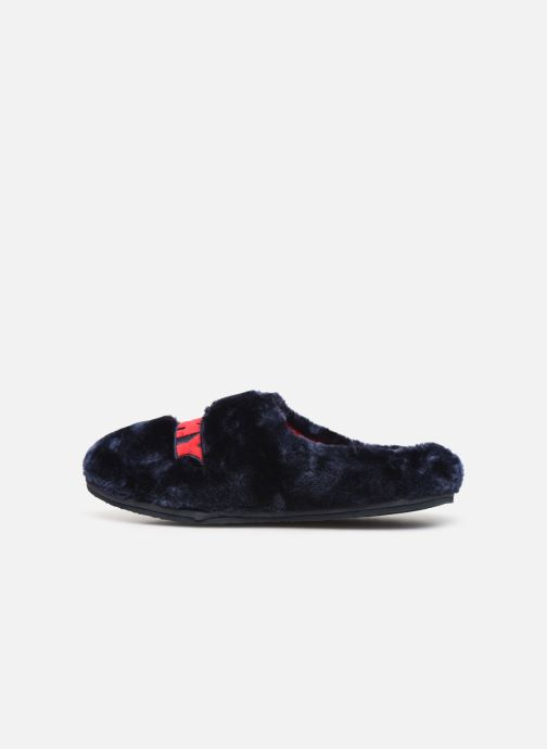 Chaussons Tommy Hilfiger TOMMY WOMENS FUR SLIPPER Bleu vue face