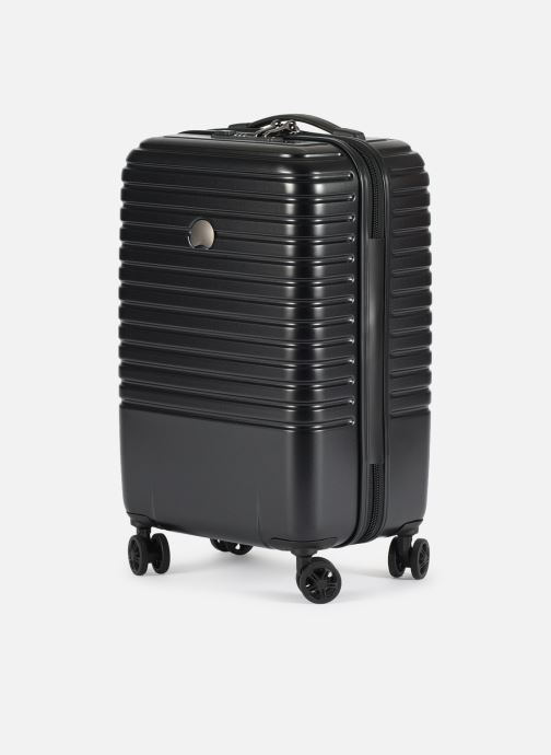 Luggage Delsey Caumartin + Val Tr Cab 4Dr 55 Black model view