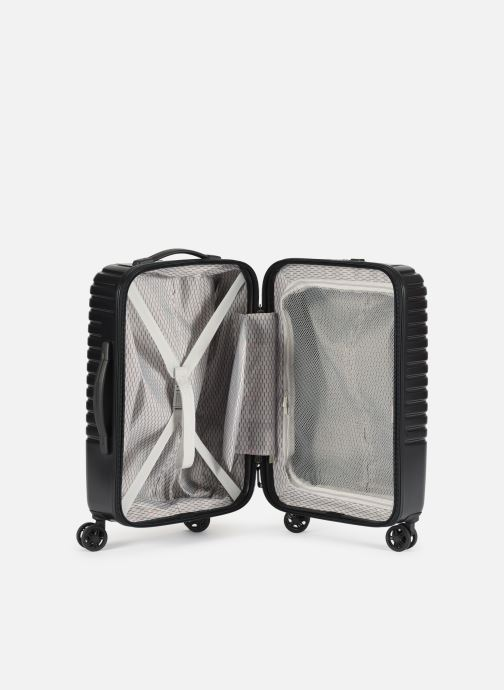 Luggage Delsey Caumartin + Val Tr Cab 4Dr 55 Black back view